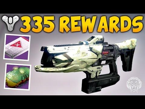 Destiny: 335 STRIKE LOOT & PACKAGES! Vanguard, Crucible, Variks & Factions (April Update)