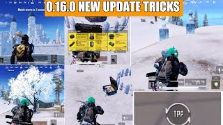 Pubg Mobile New Update 0.16.0 New Tips And Tricks !! Pubg Mobile New Update Secret Loot Location