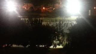 מפגע רעש ותאורה בשטח מגורים   בחסות עיריית מודיעין