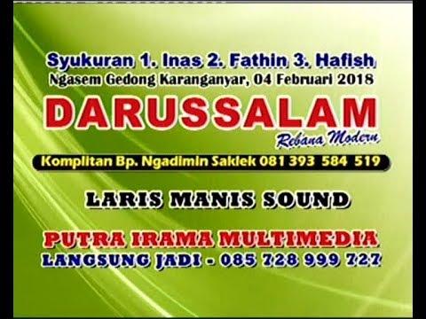 Live Streaming//Rebana Darussalam//Laris Manis Sound//Ngasem Gedong Karanganyar