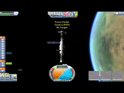 KSP Mir Re-creation: Progress 30 Spacecraft