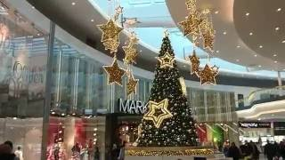 Рождество в Праге 2017 ТЦ Черный Мост (Прага) Christmas mall Cherny Most Prague