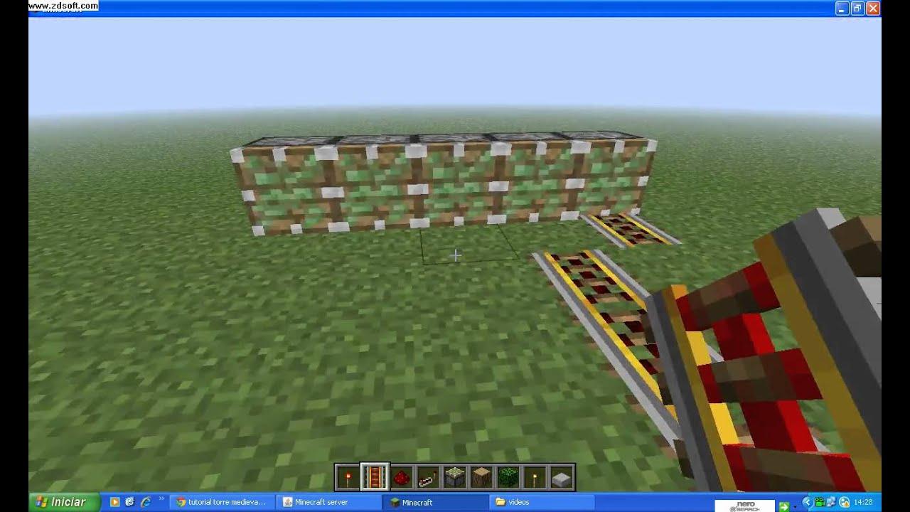 como fazer fabrica de trilhos com redstone infinito no