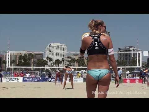 2016 ASICS WSOBV Long Beach Borger & Buthe GER vs  Betschart & Tanja Huberli SUI