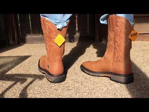 Ariat Mens Workhog Wide Square Toe Work Western Cowboy Boot