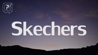 Gambar cover DripReport - Skechers (Lyrics) i like your skechers you like me my gucci shoes
