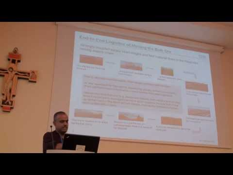 ICAPS 2013:  Kameshwaran Sampath - Integrated Operations (Re-)Scheduling from Mine to Ship