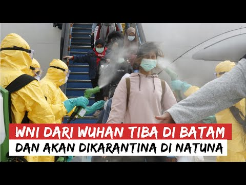 Տեսանյութ.Ինչպես են Ուհանից ժամանած ինդոնեզացիներին օդանավակայանում հատուկ հեղուկով ցողում