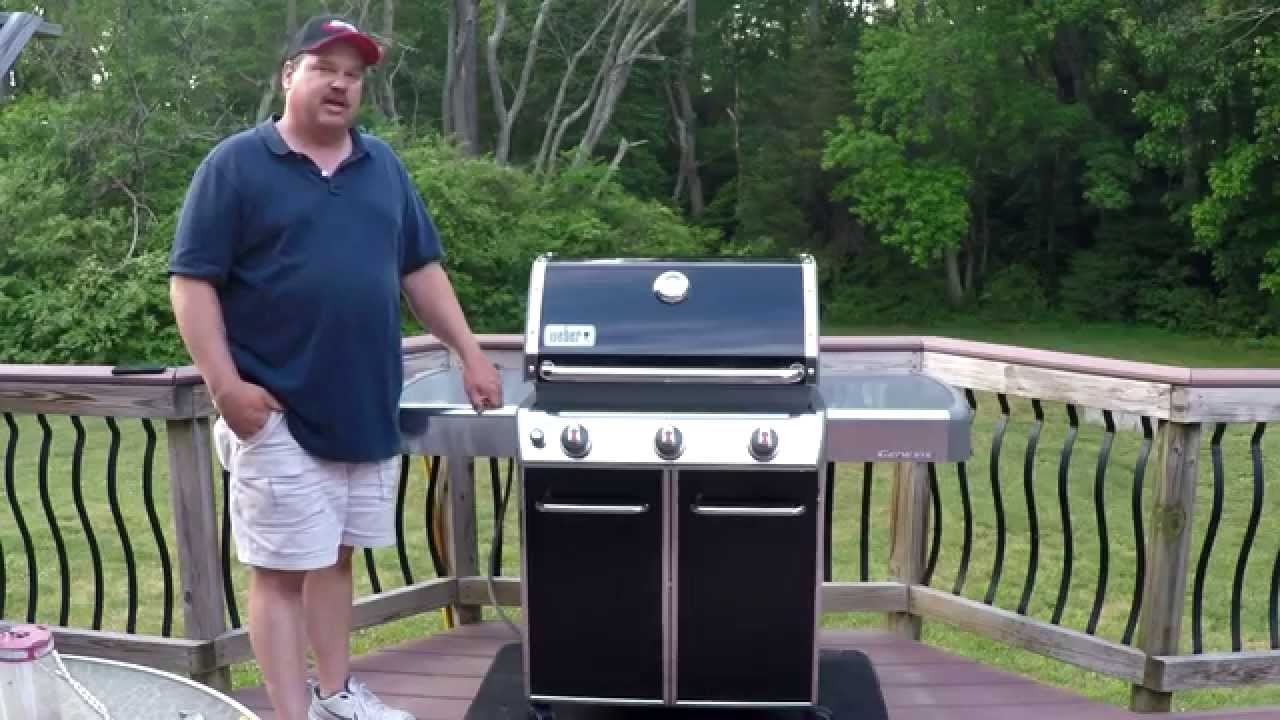 weber genesis e310 review and first few cooks youtube. Black Bedroom Furniture Sets. Home Design Ideas