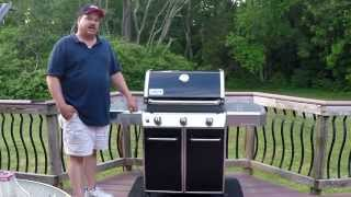 Weber Genesis E310 Review and first few cooks.