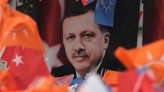 From youtube.com: Turkey's President Recep Tayyip Erdoan {MID-297618}