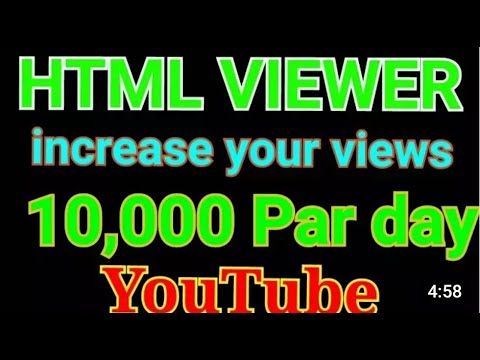 How To Use HTML Viewer Android App In Android Mobile