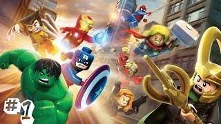 прохождение Lego Marvel Superheroes часть #1