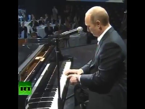 When you are a president of russia but you like a rap