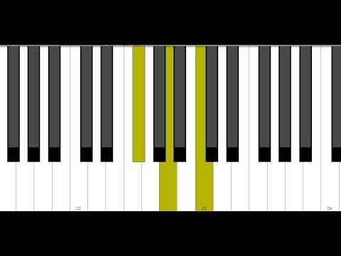 Gb Diminished Piano Chord Youtube