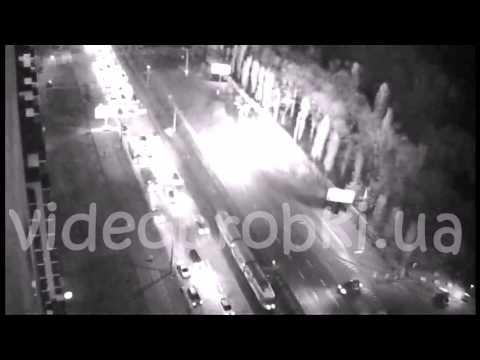 В Киеве во время движения взорвался автомобиль