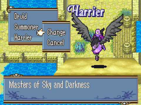 Harrier in Fire Emblem Sacred Stones Microhacking 🔪 Fire Emblem hack