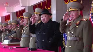 North Korea marks army anniversary with military parade