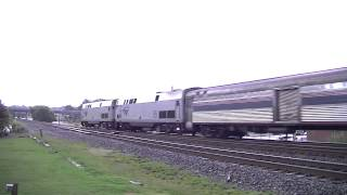 The Amtrak Crescent #20 With Horn Show! Austell,Ga 08-10-2013© HD