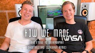 How We Made: Gigo'N'Migo & OneHeadApart - Shootingstars (Coverrun Remix) | In The Studio
