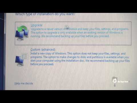 How To Upgrade Your Operating System, Upgrade From Windows Vista To Windows 7