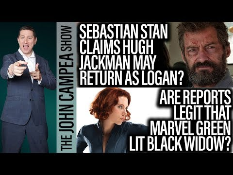 Jackman Considering Return As Wolverine? Black Widow Movie Official? - The John Campea Show