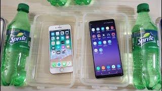 iPhone 8 vs Galaxy Note 8 - Sprite Test! (4K)