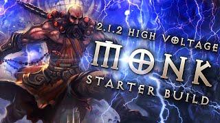 Best 2.1.2 Monk Starter Build: High Voltage Apprentice - Diablo 3 Reaper of Souls Guide