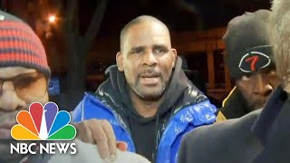 Watch: R. Kelly Surrenders To Police Custody | NBC News