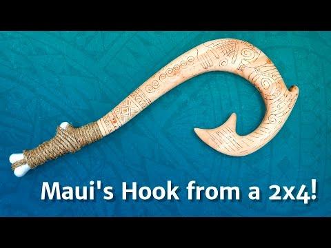 Maui Fish Hook Cake
