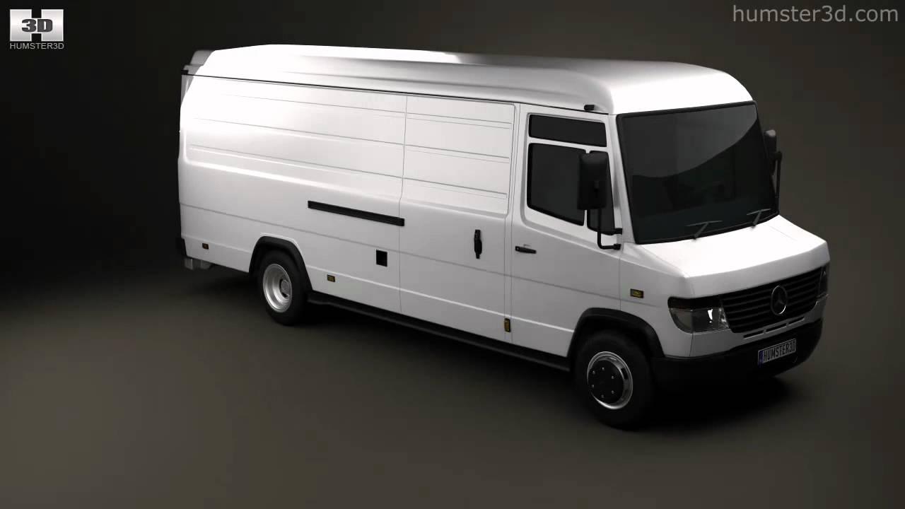 mercedes benz vario panelvan longwheelbase highroof 2011 by 3d model store youtube. Black Bedroom Furniture Sets. Home Design Ideas