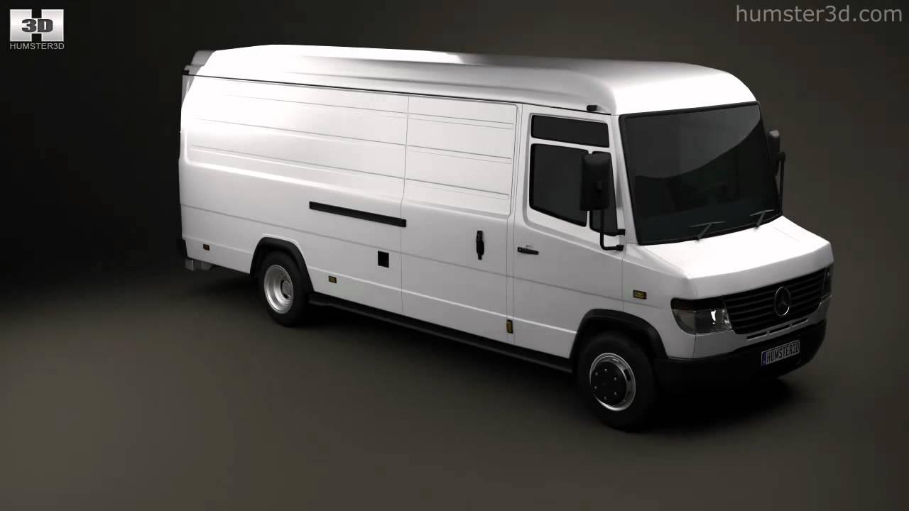 Mercedes Benz Vario Panelvan Longwheelbase Highroof 2011 By 3d Model Store Humster3d Com Youtube