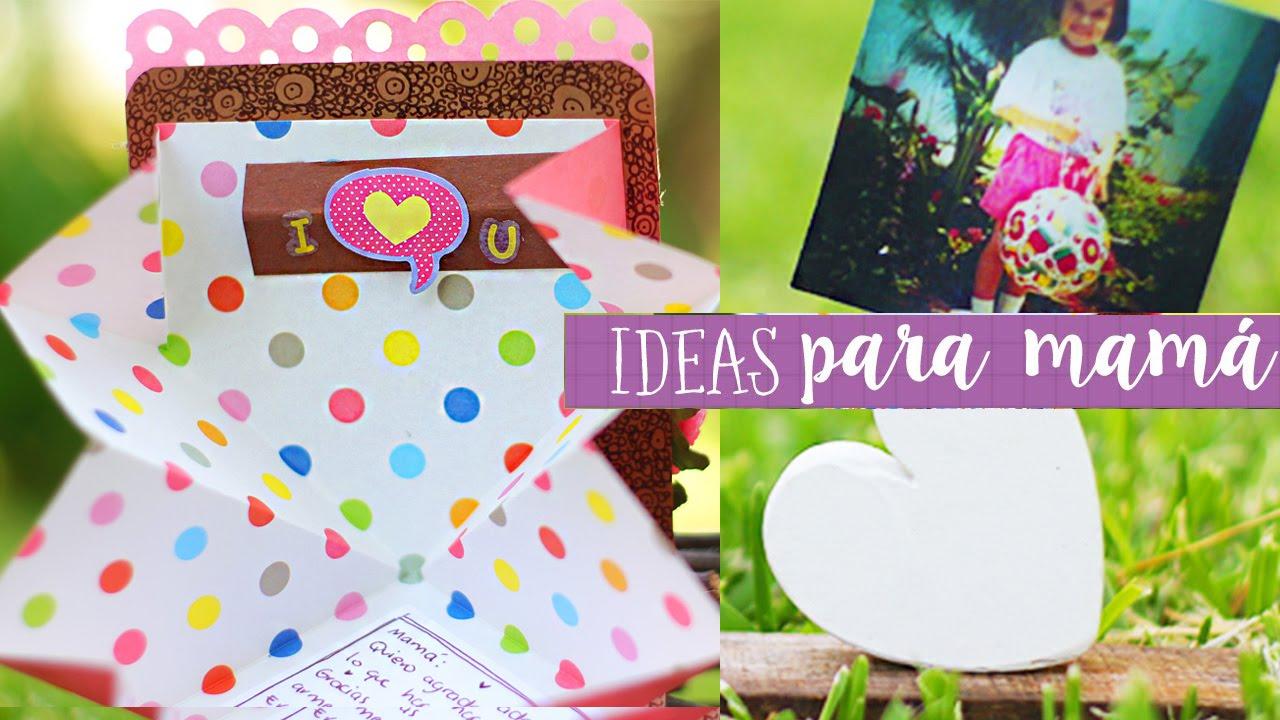 Manualidades Para El Dia De La Madre Mini Especial Crafty