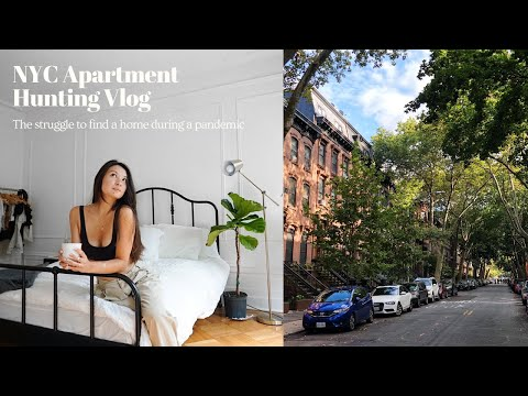 NYC Apartment Hunting Vlog! With Location & Pricing