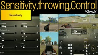 Best Sensitivity Setting Fix it Now in PUBG Mobile (Shooting,Throwing and Control)
