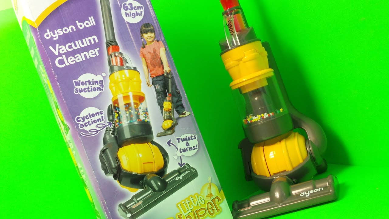 Real Working Casdon Dyson Ball Vacuum Cleaner Toy Unboxing