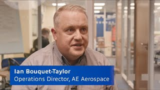 Case Study | Increasing capacity and enhancing productivity at AE Aerospace