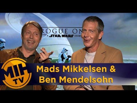Mads Mikkelsen & Ben Mendelsohn Rogue One: A Star Wars Story Interview