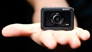 Камера Sony размером с GoPro, но с матрицей почти как у зеркалки