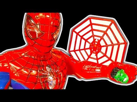 Spiderman Dark Side Scary Super Heroes Batman Ironman Hulk Fail Toys