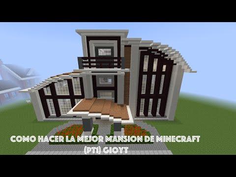 Como Hacer La Mejor Mansion De Minecraft (PT1) GioYT