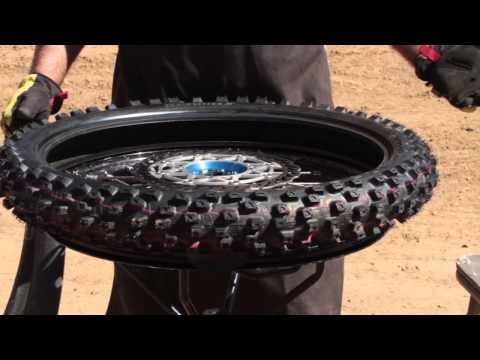 Dunlop Motorcycle: How To Change A Motocross Tire