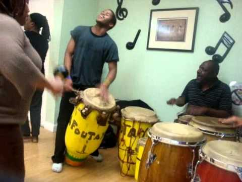 Haitian Drumming-Folkloric Haitian Drum ensemble - Jeff Pierre & Friends