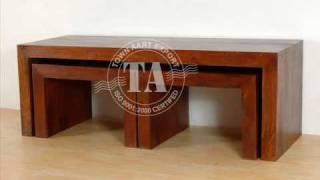 Indian Furniture Handicraft Honey Finish