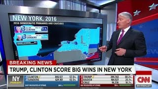 How Trump and Clinton dominated the New York primary