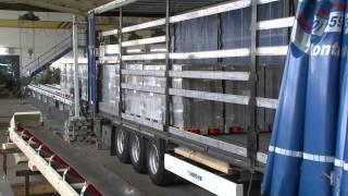 Automatische LKW-Beladung