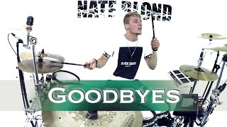 Post Malone - Goodbyes (Remix) ft. Young Thug - Drum Cover