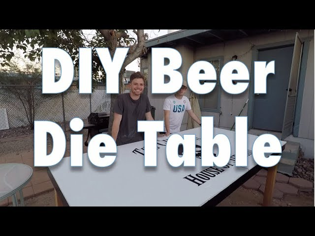 Diy Beer Die Table Youtube,Dance Studio T Shirt Designs