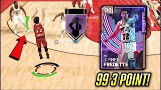 PINK DIAMOND JIMMER GREENS EVERYTHING!! *99 3 POINT* | NBA 2K19 MyTEAM GAMEPLAY