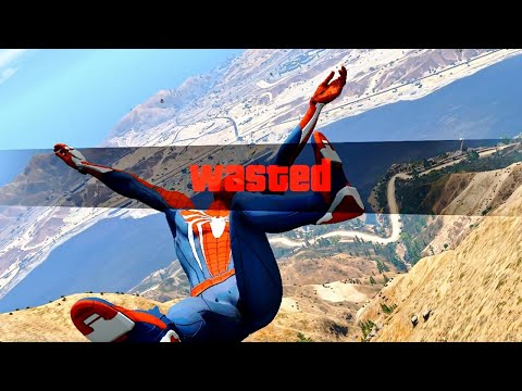 GTA 5 Epic Wasted Compilation SPIDERMAN ep.98 (Funny Moments)